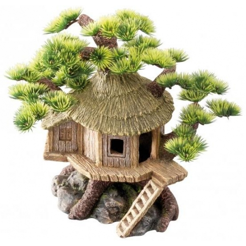 Europet bonsai huis aquarium decoratie for Decoratie aquarium