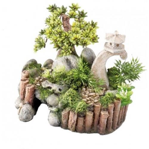 Europet chinese tuin klein aquarium decoratie - Decoratie stenen tuin ...