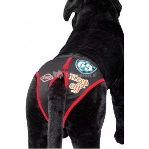 Hondenbroekje modern zwart