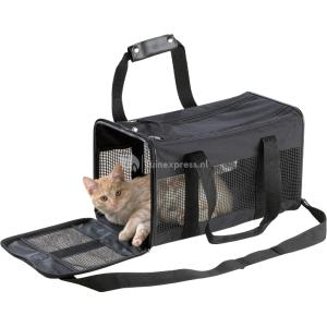 Nylon vervoertas voor kat