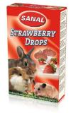 Sanal aardbeien druppels voor knaagdieren