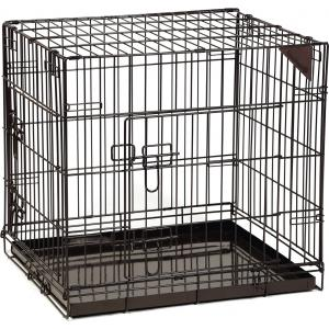 Hondenbench premium 2 deurs Bruin 63 x 55 x 61 cm