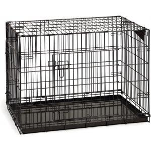Hondenbench premium 2 deurs Bruin 89 x 60 x 66 cm