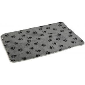 Vetbed voor hondenbench grijs 109 x 69 cm
