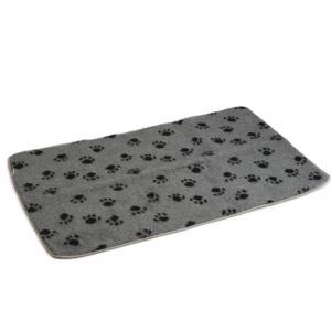 Vetbed voor hondenbench grijs 121 x 78 cm