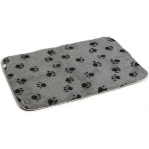 Vetbed voor hondenbench grijs 89 x 60 cm