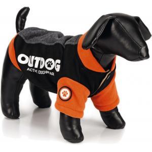 Hondenjas Outdog oranje/zwart S 26 cm