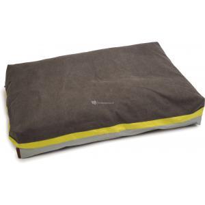 Hondenkussen Lumbro grijs 100 x 70 x 15 cm