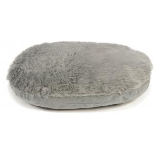 Hondenkussen ovaal Curiva grijs 74 x 58 cm