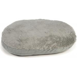Hondenkussen ovaal Curiva grijs 95 x 75 cm