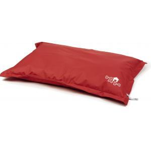 Lounge hondenkussen Chill Pill rood 110 x 75 cm