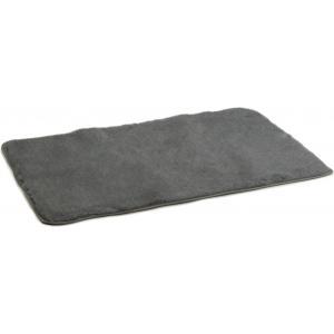 Vetbed afgebiesd voor hond grijs 120 x 75 cm