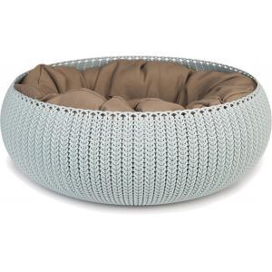 Curver Cozy Pet Bed hondenmand lichtblauw 50 cm