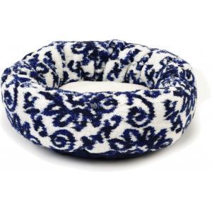 Dagaanbieding - Hondenmand Kirka rond creme/blauw 60 cm dagelijkse koopjes