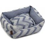 Hondenmand ZigZag blauw 55 x 50 x 20 cm