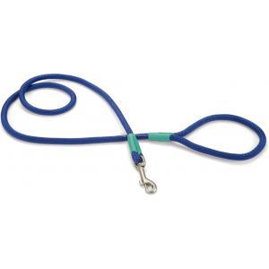 Hondenriem Nikra 125cm x 10mm blauw