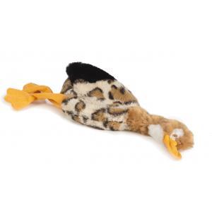 Flatino pluche hondenspeeltje eend 28 cm