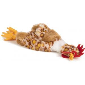 Flatino pluche hondenspeeltje kip 25 cm