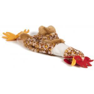 Flatino pluche hondenspeeltje kip 40 cm
