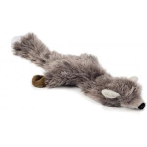 Flatino pluche hondenspeeltje vos beige 30 cm