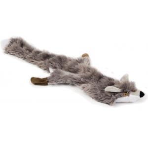 Flatino pluche hondenspeeltje vos beige 52 cm