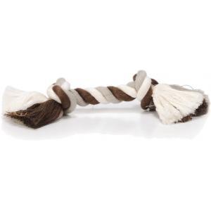 Flossytouw hondenspeeltje 2 knopen multi 50 gram