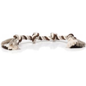 Flossytouw hondenspeeltje 4 knopen multi 360 gram