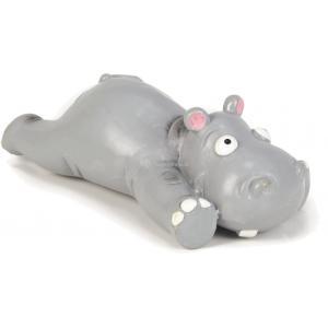 Latex hondenspeeltje Hippo 19.5 cm