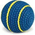 Latex hondenspeeltje speelbal Biky blauw 9 cm