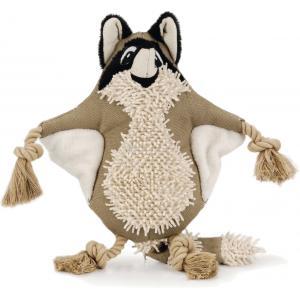 Nuddles textiel hondenpeeltje wasbeer 32 cm