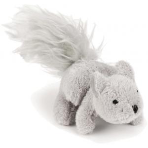 Pluche hondenspeeltje eekhoorn Dinky 12 cm