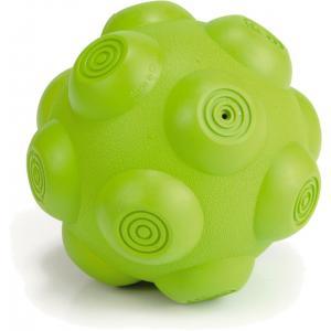Rubber bal hondenspeeltje Balani groen 10 cm