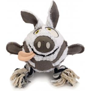 Schapenvacht hondenspeeltje Mula 28 cm
