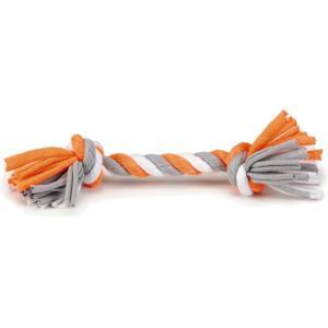 Textiel hondenspeeltje speelknoop Wiza multi 20 cm
