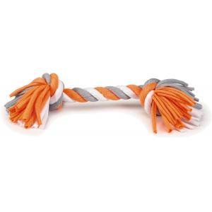 Textiel hondenspeeltje speelknoop Wiza multi 28 cm