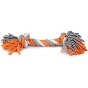 Textiel hondenspeeltje speelknoop Wiza multi 38 cm