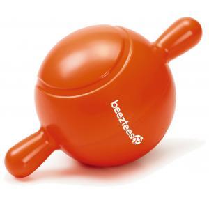TPR Apportino bal hondenspeeltje klein oranje 21.5 cm