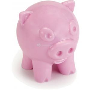 TPR hondenspeeltje Djambo roze 9 cm