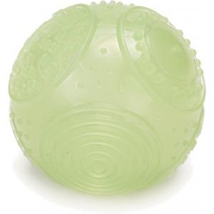 TPR hondenspeeltje speelbal Moonglow 7 cm