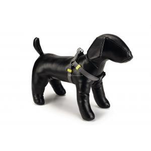 Hondentuig nylon 60-100cm donkergrijs
