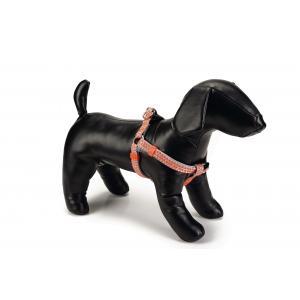 Hondentuig nylon Triangle 35-60cm lichtgrijs