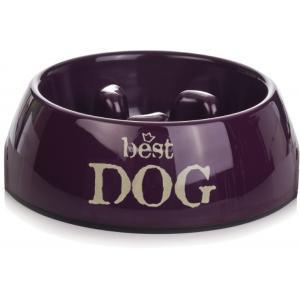 Dieet hondenvoerbak Best Dog paars 18 cm