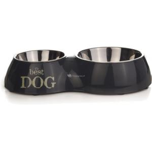 Melamine dinerset Best Dog Grijs-37 x 22 cm