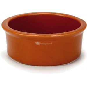Hondenvoerbak Jammo keramiek oranje
