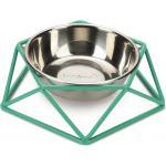 Hondenvoerbak Puroni groen 19 cm