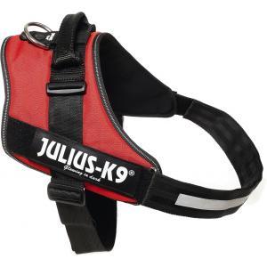 Julius-K9 IDC-Powertuig 82-115cm rood