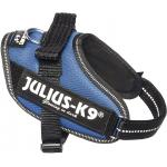 Julius-K9 IDC-Powertuig Mini 49-67cm blauw