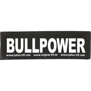 Julius-K9 tekstlabel Bullpower 11 x 3 cm