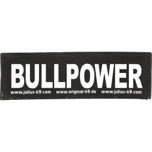 Julius-K9 tekstlabel Bullpower 16 x 5 cm