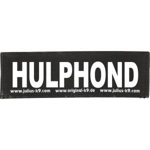 Julius-K9 tekstlabel Hulphond 11 x 3 cm